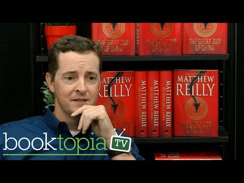 Matthew Reilly on his thrilling new book The Great Zoo of China
