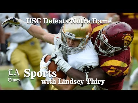 USC defeats Notre Dame, finishes season 9-3