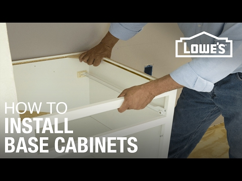 how-to-install-base-cabinets