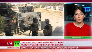 Obama declares airstrikes on ISIS 'wherever it exists', incl Syria