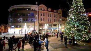 Prezentacja miejskiej choinki - Olsztyn 05.12.2015