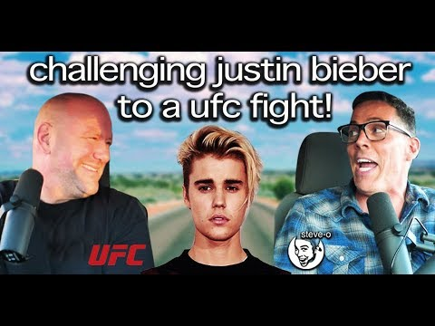 UFC - Calling Out Justin Bieber With Dana White! | Steve-O