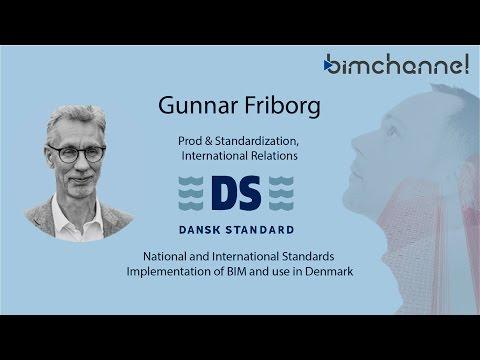 BIM - Guunar Friborg Conference - DANSK STANDARD - BIMFORUM 2016