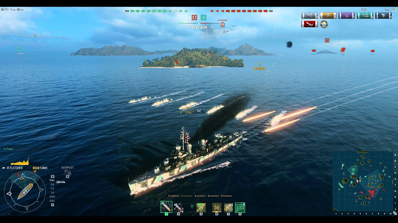 world of warships how to add skins