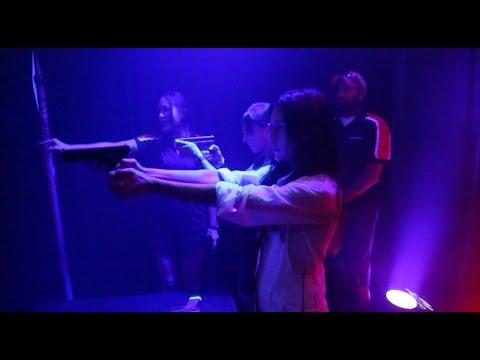 Hitman: Agent 47: Watch Hannah Ware Test Her Hitman Skills at Comic-Con