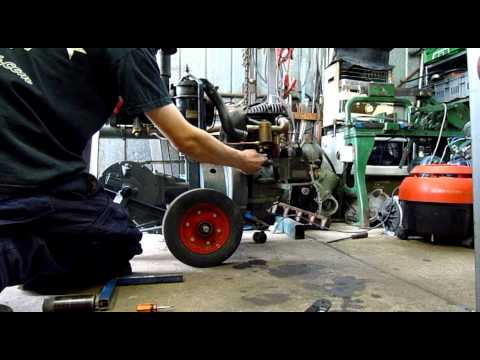 Howard Dry Sump Engine Service and Start