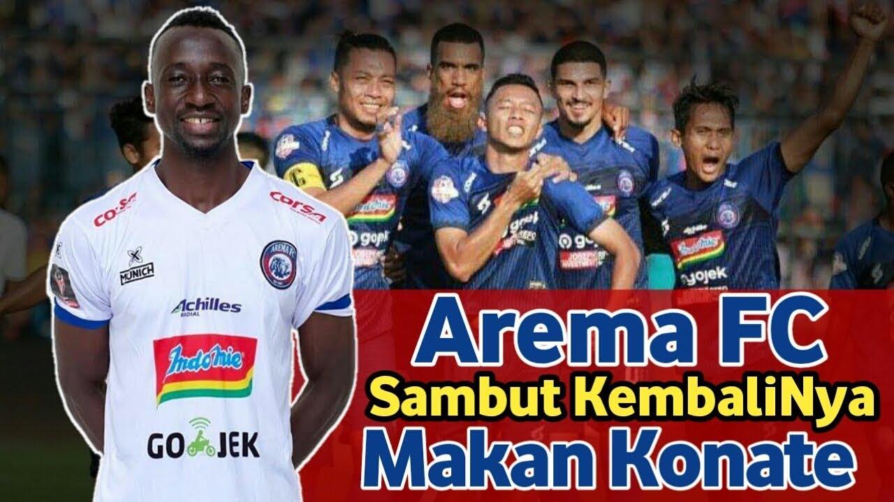 Kabar Gembira,! Arema FC Sambut Kembalinya Makan Konate ...