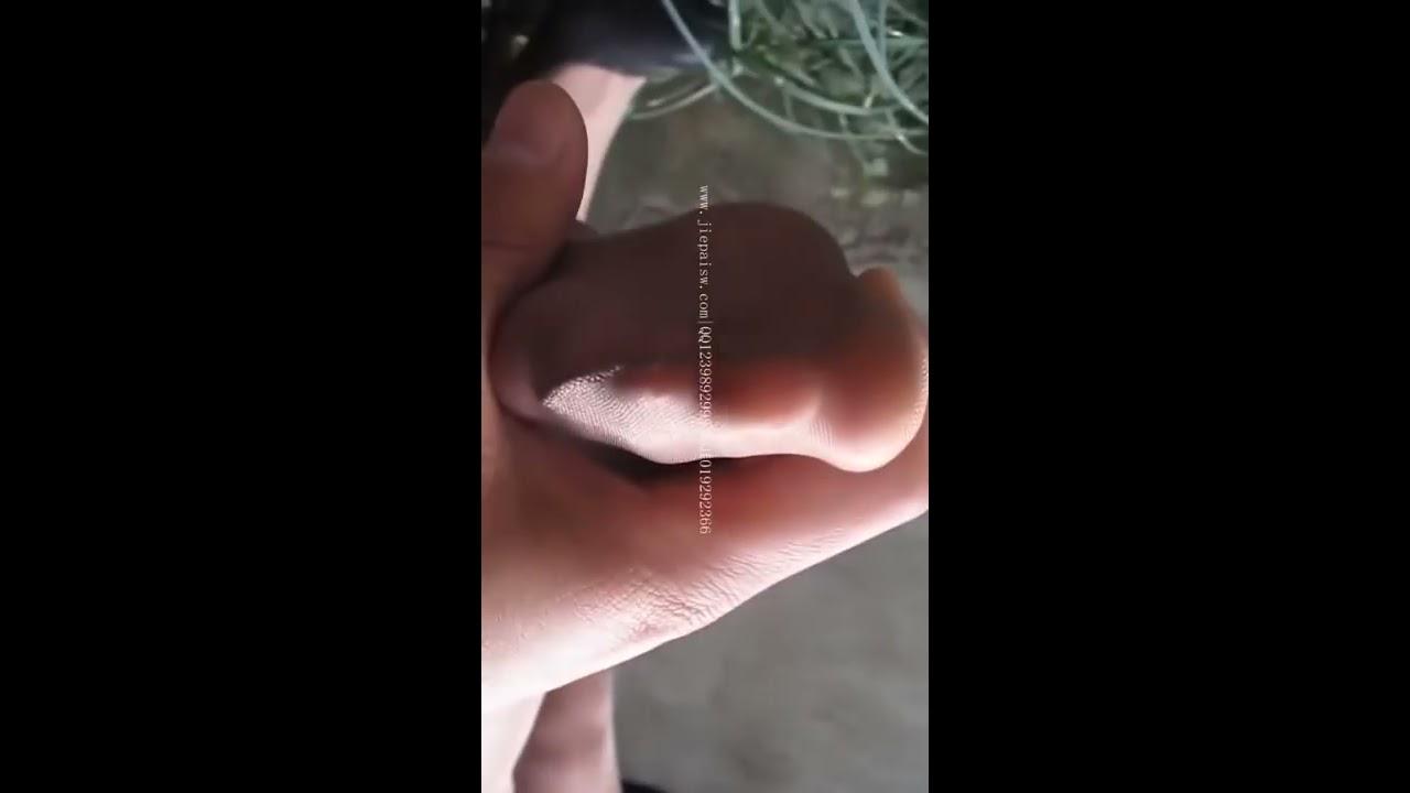 스타킹 검스 살스 은꼴 레전드 팬티스타킹  the girl change stocking in the bathroo #1