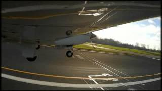 Mike VFR arrival at Rotterdam The Hague airport