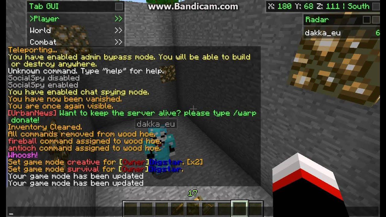 Commands Minecraft