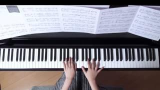 2016年8月19日 録画、 使用楽譜;月刊ピアノ2016年4月号(ぷりんと楽譜...