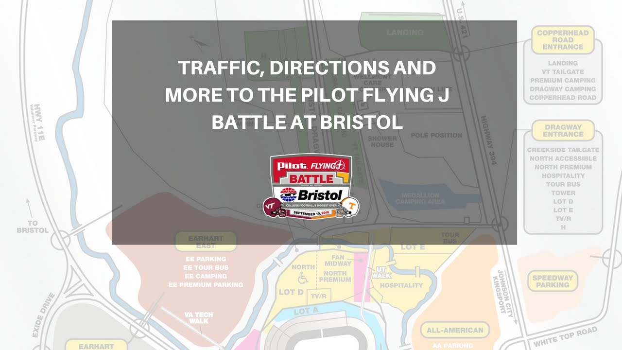 Pilot Flying J Battle at Bristol: Traffic and Directions ...