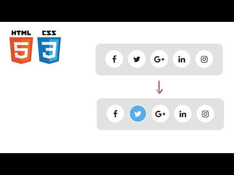 [프론트엔드 퍼블리싱 취업성공] 애니메이션 SNS 아이콘 메뉴 - [CSS 강좌]