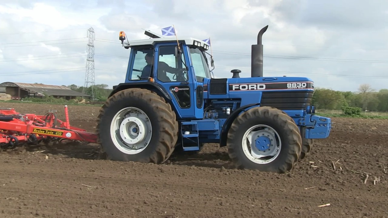 New Holland Ford >> 100 Years Of Fordson Ford And New Holland Tractors Part 1