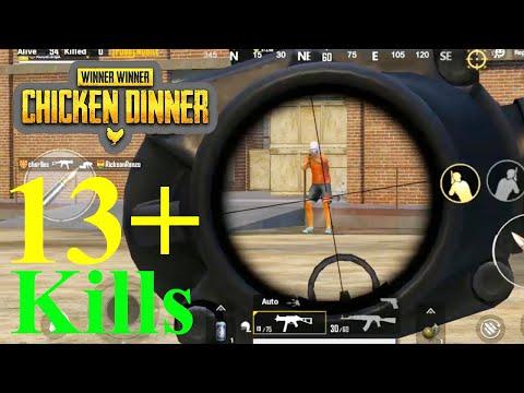 PUBG Mobile | Winner Winner Chicken Dinner | 13+ Kills | Solo VS Squad | PUBG Mobile Live