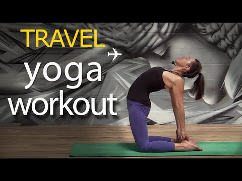 Yoga for Travel ✈ Power Yoga Workout