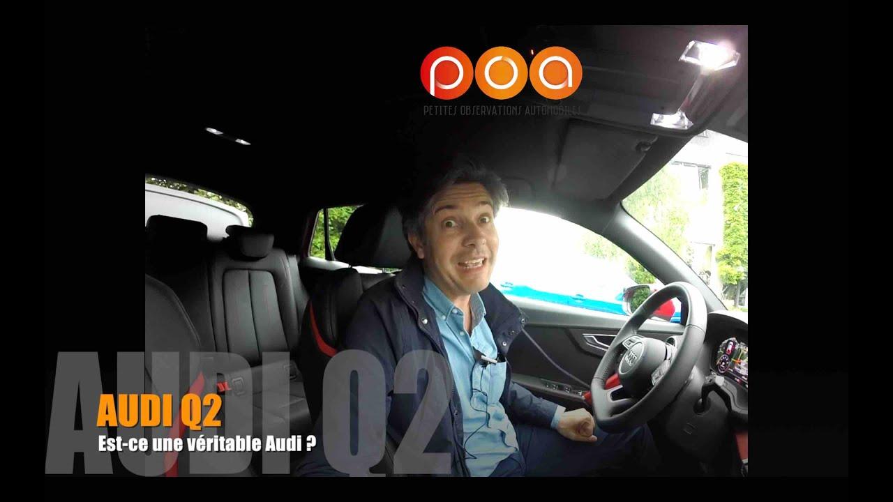 Download Audi Q2 : est-ce bien une Audi ? - 1er essai
