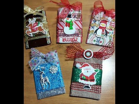 DIY~Adorable Toilet Tissue Roll Gift Card Holder Ornament!