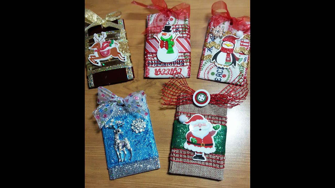 Diyadorable toilet tissue roll gift card holder ornament youtube negle Choice Image