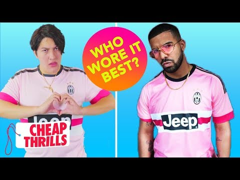 the best attitude dbd6c 25bff D.I.Y. Drake's Pink Juventus Jersey | Cheap Thrills - YouTube