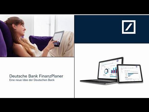 Der Deutsche Bank Finanzplaner Das Digitale Haushaltsbuch Youtube