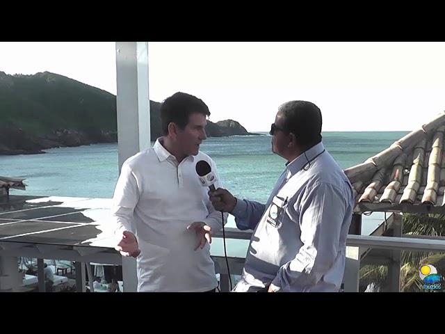 Entrevista com o Prefeito de Armação dos Búzios Dr. André Granado.