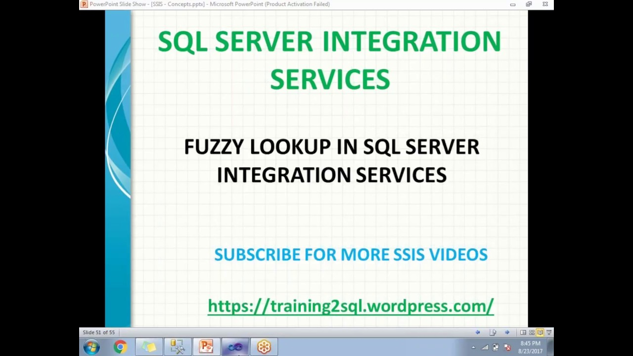 fuzzy lookup transformation in ssis fuzzy lookup examples in ssis