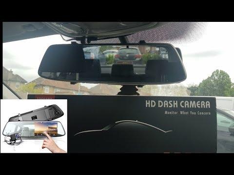 TOGUARD FHD Mirror Dash Cam Installation & Review