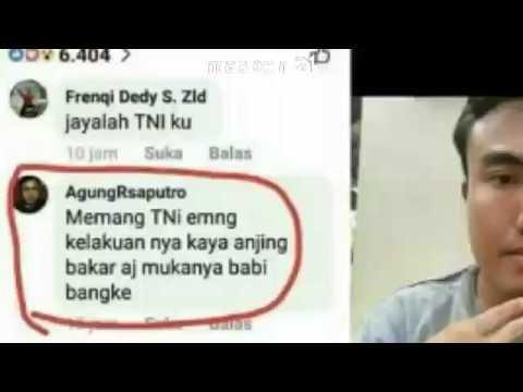 Lagi dan lagi penghina TNI,tercyduk !!