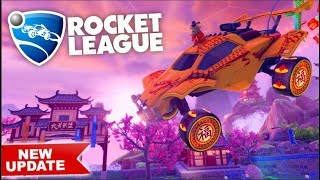 *NEW* Lunar New Year Rocket League Update IS OUT!