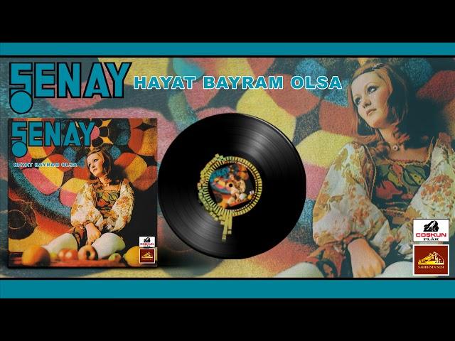Şenay - Hayat Bayram Olsa (1973) Orijinal 45'lik Kayıtları