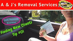 Finding New Clients - Junk Removal Business - Tip #01