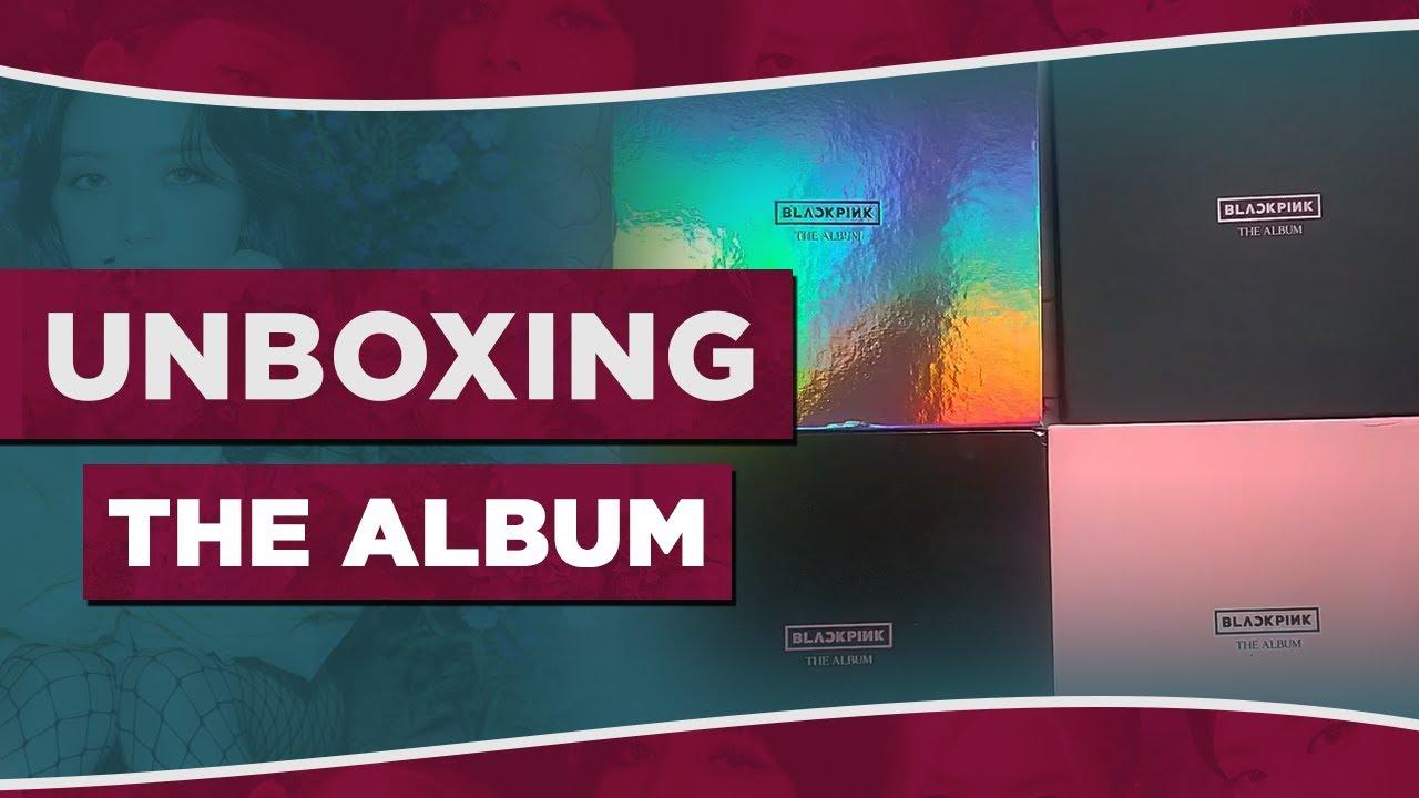 [UNBOXING] THE ALBUM - TODAS AS VERSÕES I ALBUM BLACKPINK