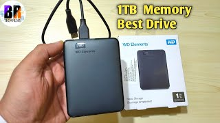 WD Elements 1 TB External HDD Review