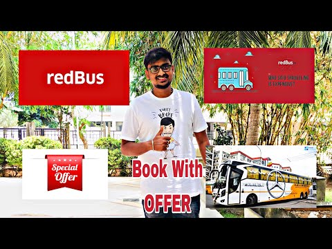 How To Book Ticket In Bus With OFFERS   RedBus   100% Works   20% Cash Back Woww   Epi 39