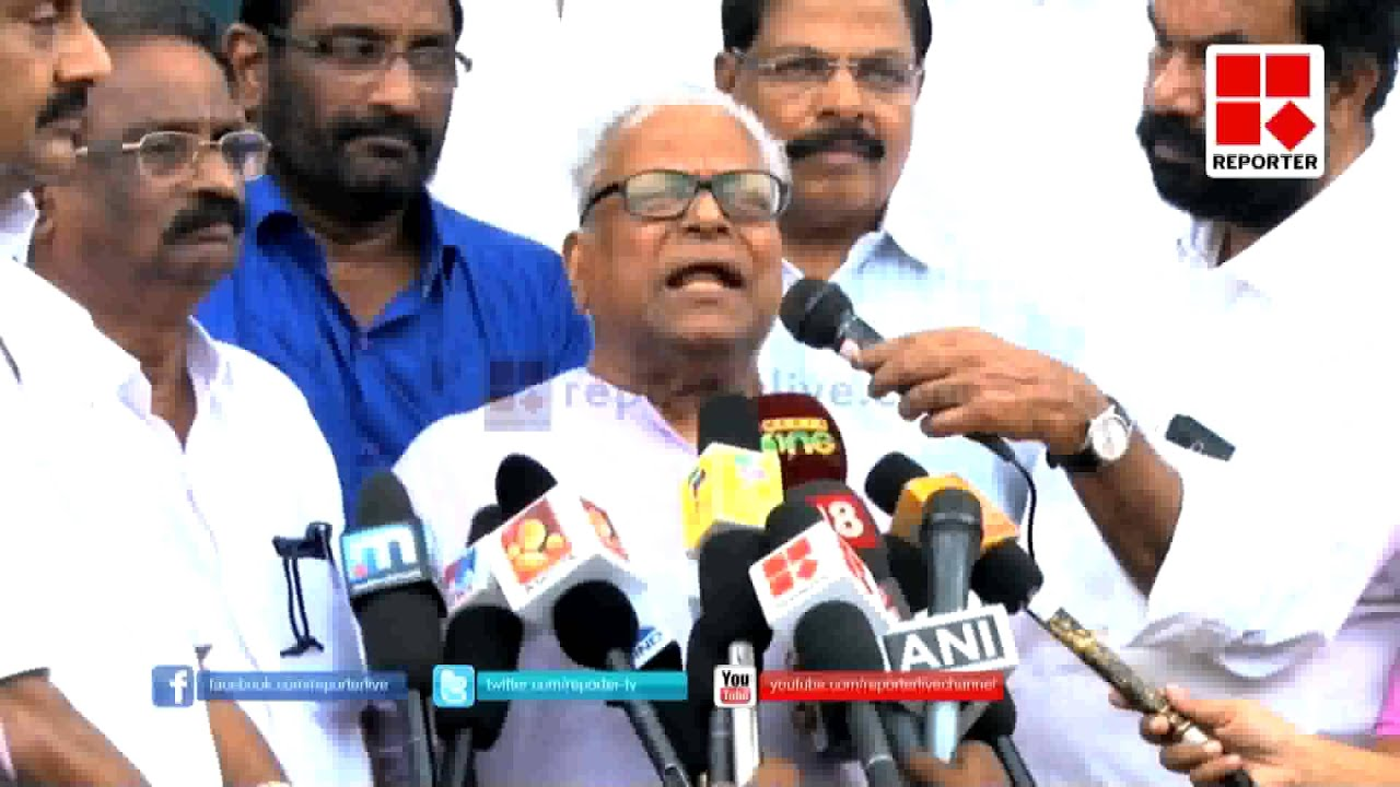 V S Achuthanandan says Oommen Chandy Should resign from ...