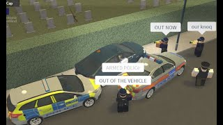 Borough of Guildley-Most interesting Police pursuit ever-Roblox!