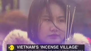 Vietnam's 'incense village' prepares for lunar new year