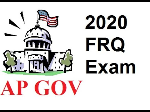 AP Gov Coronavirus 2020 Exam: How to Answer the Two FRQs
