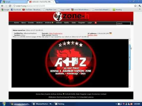 National Travel Agency Official Site Hacked By Albanian Hackers Zone