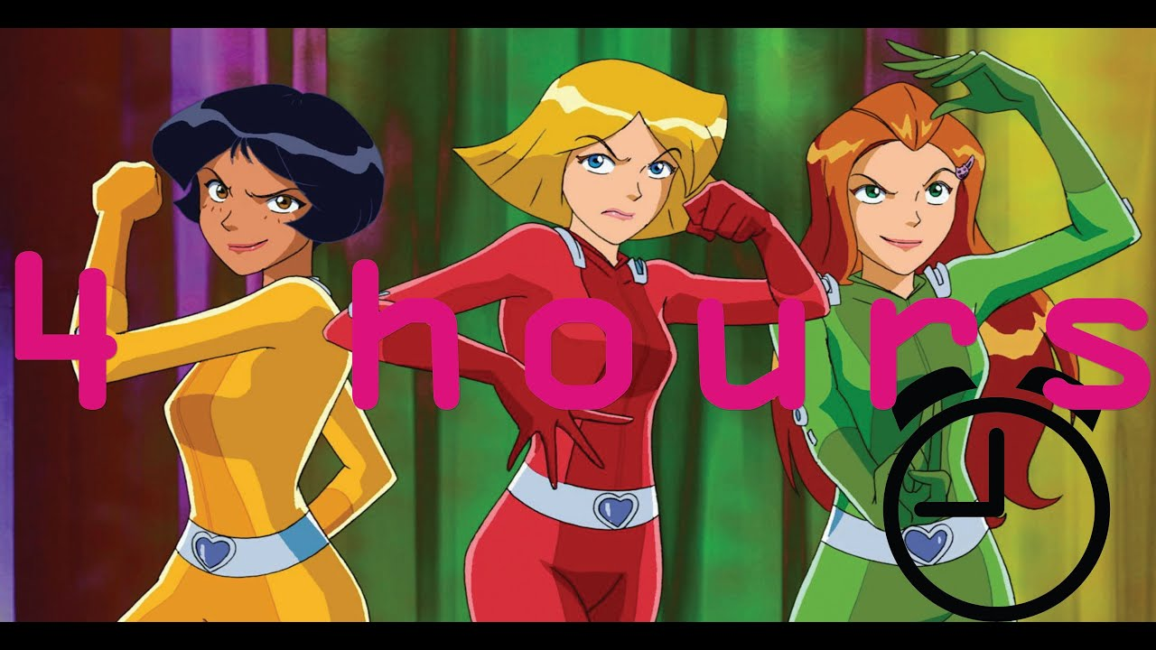 Totally Spies - Series 1 - Full Episodes 14-26  4 Hours  Totally Spies - Youtube-2544