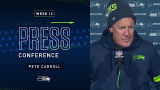 Pete Carroll Postgame Press Conference at Eagles   2019 Seattle Seahawks