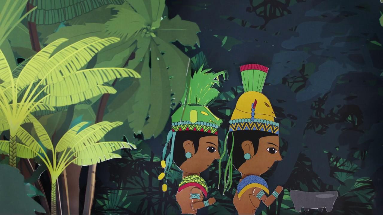 La Creación Del Hombre Mito Maya Quiché
