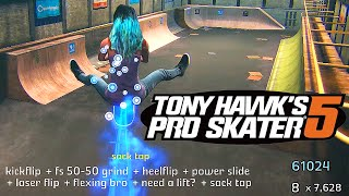 Tony Hawk Pro Skater 5 - Full 60FPS Exclusive Gameplay
