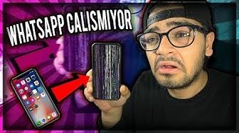 iPHONE ve WHATSAPP'leri ÇÖKERTEN MESAJ !!! (Whatsapp'a Giremiyorum !)