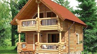 Проект дома из оцилиндрованного бревна ДСЭ 11(, 2015-12-27T15:05:22.000Z)
