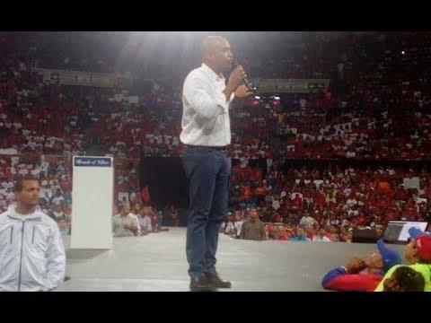 Héctor Rodríguez, candidato a la gobernación de Miranda: Discurso en el Poliedro