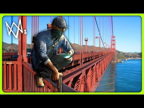 WHERE IS THE HIDDEN GUN?! | Watch Dogs 2 Free Roam