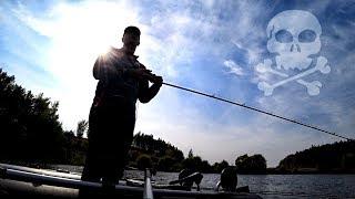 Рыбалка на мертвые воблеры! 💀 Ловля щуки на спиннинг осенью! Твичинг. Проект - Коробка мертвецов #1