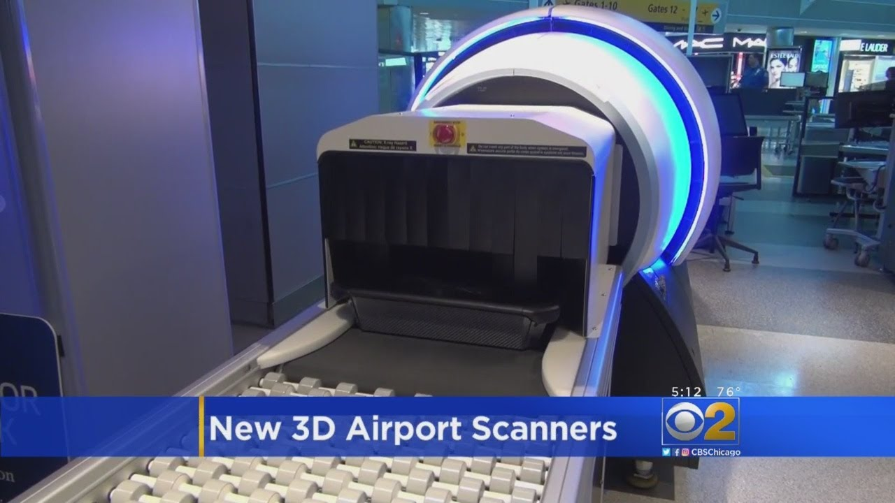 TSA Launches New 3D Scanner Technology To Replace X-Ray Scanners